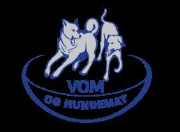VOM og hundemat logo blau